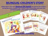 German or ESL Beginners BUNDLE - Stories, Activities, Printables and Audio