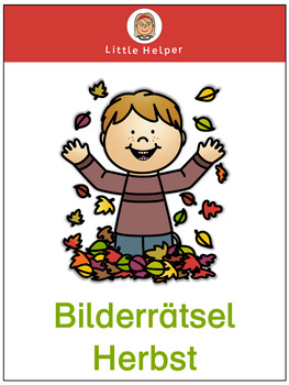 German picture puzzle Herbst
