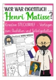 German presentation / Deutsch: Steckbrief Kunst -  Henri Matisse