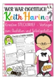 German presentation / Deutsch: Steckbrief Kunst -  Keith Haring