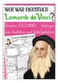 German presentation / Deutsch: Steckbrief Kunst -  Leonard