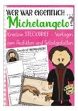 German presentation / Deutsch: Steckbrief Kunst -  Michelangelo