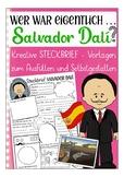 German presentation / Deutsch: Steckbrief Kunst -  Salvador Dalí