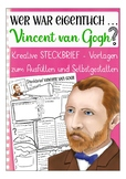German presentation / Deutsch: Steckbrief Kunst -  Vincent