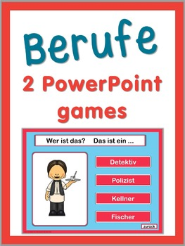 German professions   2 PowerPoint Games