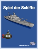 German regular verbs Schiffe versenken Battleship game