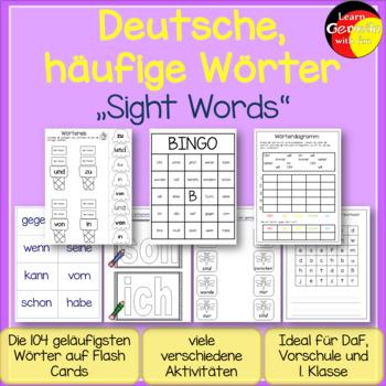 German sightwords