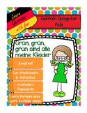 German song - Grün, grün, grün sind alle meine Kleider