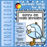 German song - Kommt ein Vogel geflogen- Kinderlieder