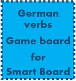 German Verbs Game Board for Smartboard