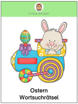 German word search puzzle Ostern