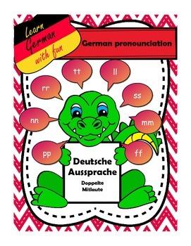 German words with double consonants
