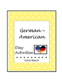 German-American Day Activities * Pac