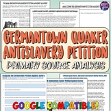 Germantown Quaker Anti-Slavery Petition Document Analysis