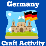 Germany | Worksheet Craft Activity | Kindergarten 1st 2nd
