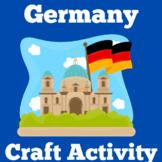 Germany Activity Worksheet