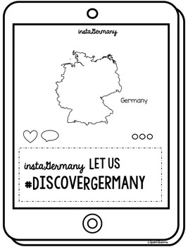 Germany Country Study {Supplemental Social Studies Materials} Instagram