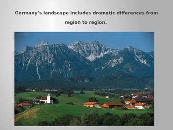 Germany- A Geographic Snapshot