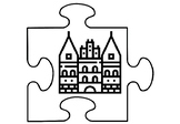 Germany Art Activity, Jigsaw Puzzles Coloring Pages, Germany Study Art Project