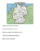 European Maps:Germany, Austria, Liechtenstien and Switzerl