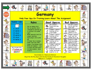Germany Board Game
