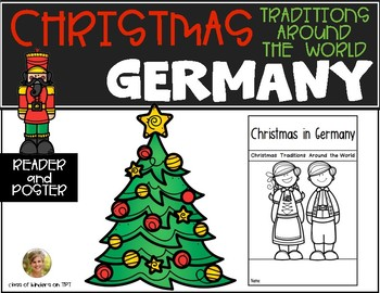 Germany Christmas Around World Traditions Reader Poster