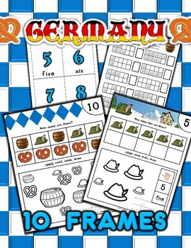Germany Counting Numbers Activities