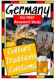Germany - Culture, Customs, Traditions - Research