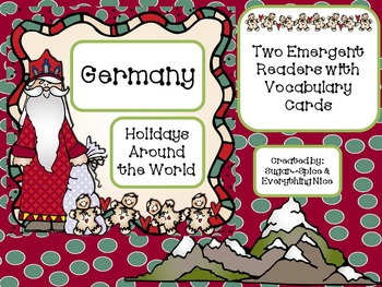 Germany Differentiated Emergent Readers with Vocabulary Cards