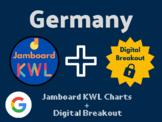 Germany Digital Bundle (Jamboard KWLs, Digital Breakout, A