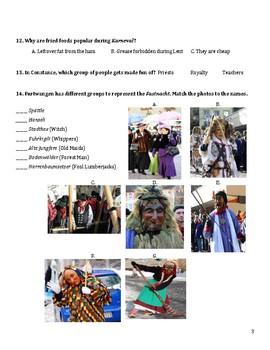 Germany Fasching Karneval Fastnacht Celebration Bundle