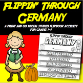 Germany Flip Book: A Social Studies Interactive Activity for Grades 3-5