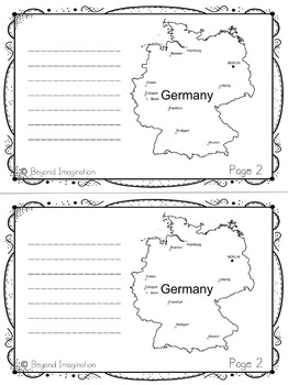 Germany Country Study | 48 Pages for Differentiated Learning + Bonus Pages