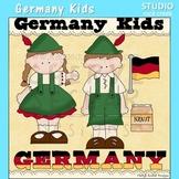 Germany Kids Color Clip Art C. Seslar