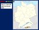 Germany Map Activity- fun, engaging, follow-along 24-slide PPT