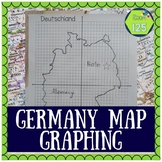Germany Map Outline Coordinate Graphing Picture