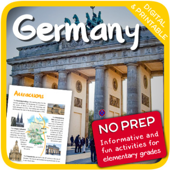 Germany (Fun stuff for elementary grades)