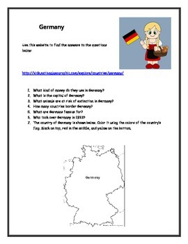 Germany Questions
