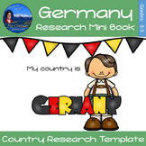 Germany - Research Mini Book