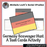 Germany Scavenger Hunt Task Card Game Activity - Geography