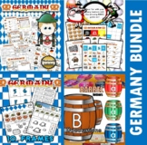 Germany Themed Classroom Center Bundle