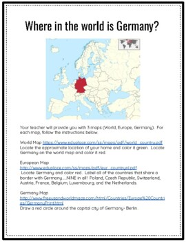 Germany Unit Study (Facts, Customs, and Traditions)