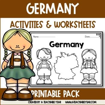 Germany- Vocabulary Pack