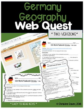 Germany Web Quest