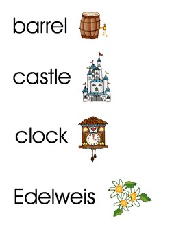 Germany Words and Pictures