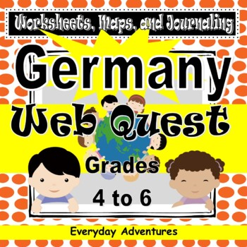 Germany:  Worksheets, Maps, and Journaling Pages