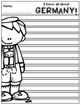 Germany Writing Papers (A Country Study!)