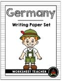 Germany Writing Paper Set