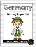 Germany Writing Paper Set
