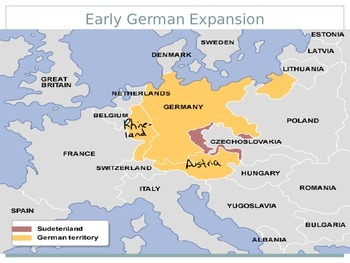 Germany expands and appeasement fails